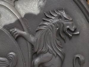 Plaque De Cheminée En Fonte Le Bon Coin : plaque de chemin e d cor de coqs et de lions plaques ~ Farleysfitness.com Idées de Décoration