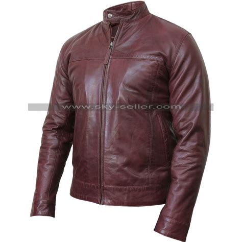 real leather motorcycle jackets men 39 s real leather burgundy bomber motorcycle jacket