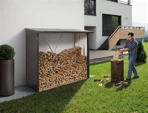 kaminholzregal und kaminholzunterstand bei edingershopsde
