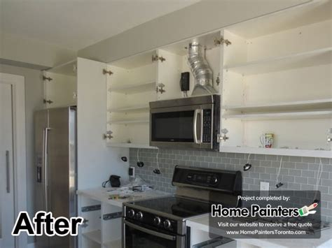 painting kitchen cabinets toronto home painters toronto 187 toronto kitchen cabinets painting 4039