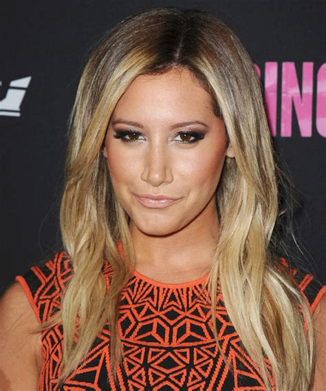 ashley tisdale casual long straight hairstyle dark