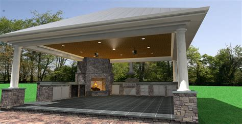 Cabana, Pool, And Hardscaping  Selah Design Services