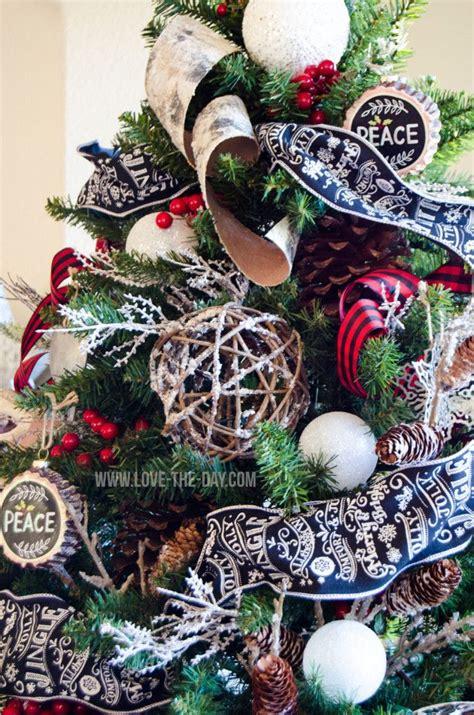 buffalo check christmas tree christmas tree inspiration