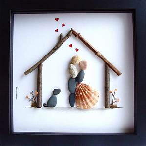 unique wedding gift customized wedding gift pebble art unique With fun wedding gifts for couple