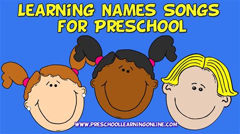 learning names songs for preschoolers learning name song 559 | maxresdefault
