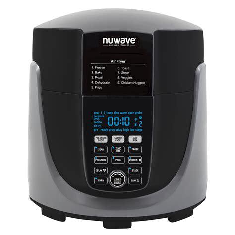 nuwave fryer cooker pressure air combo duet sears oven appliances points 6qt