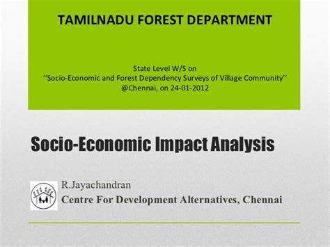 bureau for research and economic analysis of development socio economic impact analysis