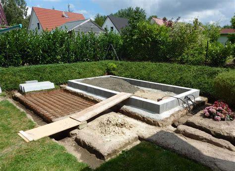 Das Richtige Fundament Für Ihr Gartenhaus  Gartenhaus Gmbh