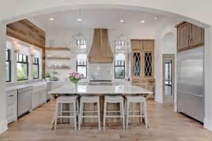 Kitchen Island Big Lots 20 Farmhouse Kitchens For Fixer Style Industrial Flare