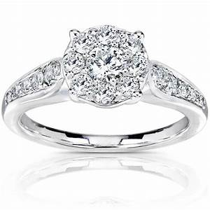 adding beauty to your finger cluster diamond rings With cluster diamond wedding rings