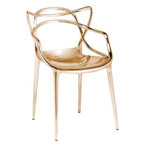 sheepskin chair masters chaise métallisée kartell voltex