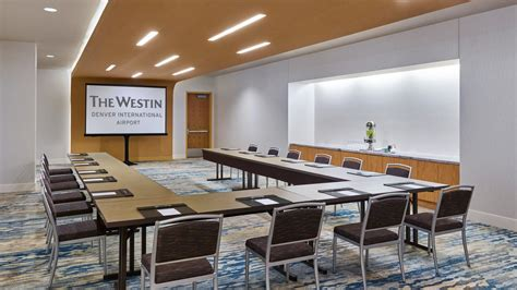 hotel front desk meeting topics denver meeting space the westin denver international airport