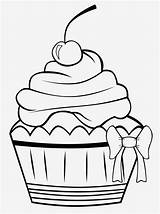 Dessert Drawings Coloring Pages Cupcake Clipartmag sketch template