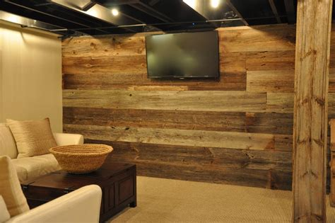 Barnwood Vanities by Modern And Rustic Rustic Basement Chicago By