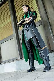 The Avengers Loki Cosplay Costume