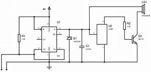 Invisible Broken Wire Detector Circuit