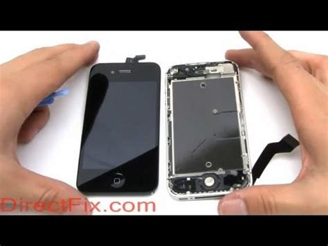 how to replace iphone 4 screen iphone 4s gpu broken icons shake screen banding