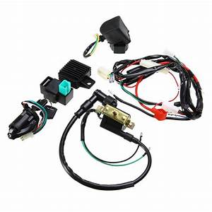 Mayitr New Motorcycle Cdi Wiring Harness Loom Ignition