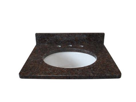 tuscany 37 quot x 22 quot 3cm granite vanity top 8 quot oc bowl