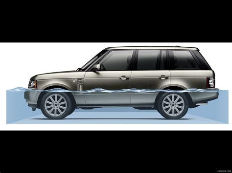 Wading Land Rover Wallpaper by 12my Range Rover Displaying The Wading Depth Wallpaper 11
