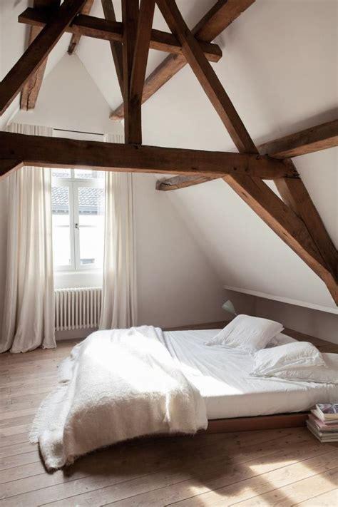chambre à coucher originale la tendance poutres apparentes 41 bons exemples