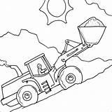 Coloring Colouring Digger Printable Sheets Transportation Drawing Simple Boys Games Construction Truck Visit Dump Trucks sketch template