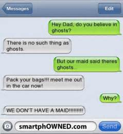 Scary Funny Text Messages