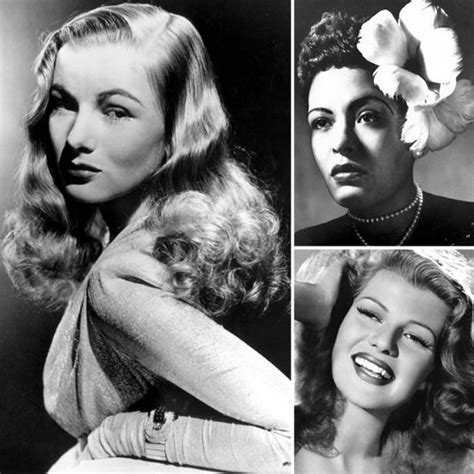 Late 1940s Hairstyles by 10 Popular 1940s Hairstyles Popsugar Australia