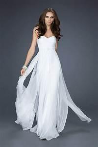 wedding fashion elegant charming white formal dresses for With white elegant wedding dresses