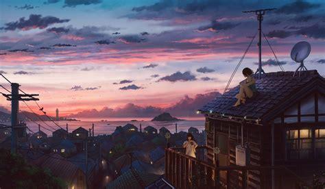 ramn on anime scenery wallpaper anime scenery anime