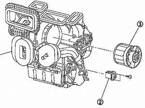 Nissan Rogue Blower Motor Location