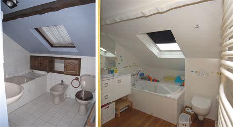 baignoire chambre salle de bain sous comble avec wc chaios com