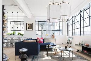 An Industrial, Colorful Loft in London - Freshome com