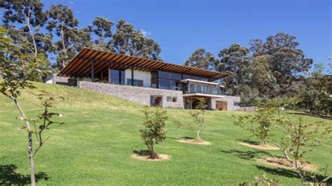 hillside cabin plans house plans built into hillside house plans with porches modern hillside house plans