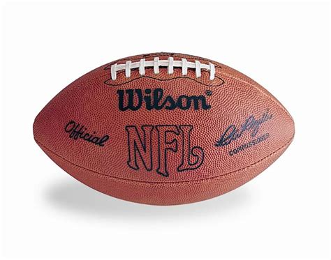pete rozelle football official nfl game ball