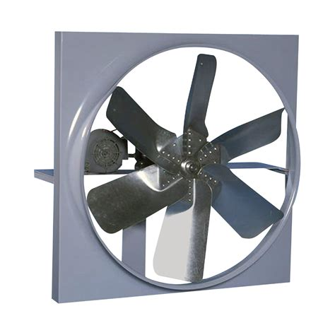 Canarm Belt Drive Wall Exhaust Fan With Cabinet Back