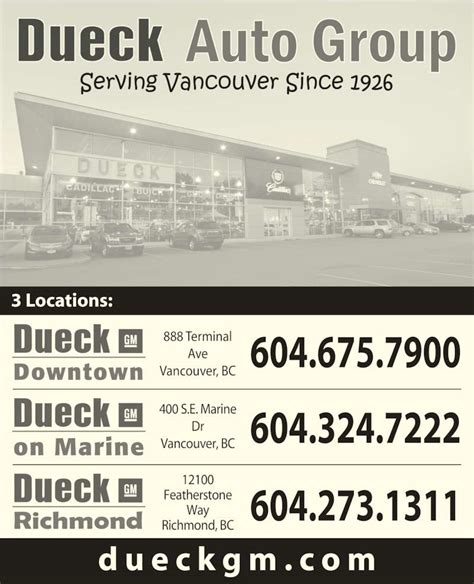 Dueck On Marine  Vancouver, Bc  400 Marine Dr Se Canpages