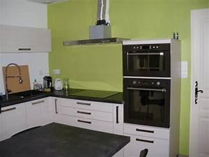 Idee couleur cuisine moderne interesting idee couleur for Idee deco cuisine avec deco sur mur gris
