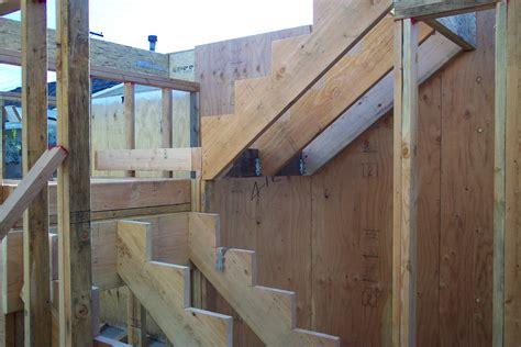 building stairs split landing staircase