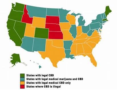 Cbd Legality State Legal Hemp Thc Status