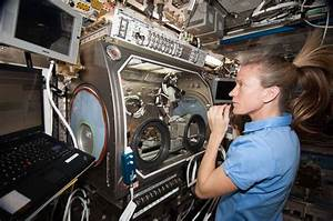 From fluids to flames, research on the space station is ...