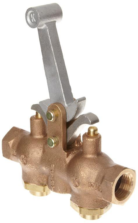 kingston  series brass hoist control valve  npt female