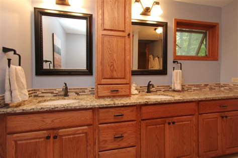 Living Room Makeovers Before And After Pictures by Master Bath Tune Up Traditional Bathroom Grand