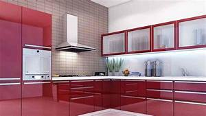 Cream kitchen units with black worktops cream cabinets for Kitchen colors with white cabinets with wall art wine
