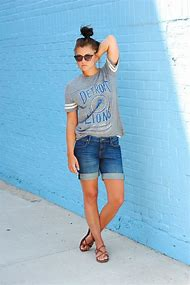 Cute Tomboy Summer Outfits With Shorts
