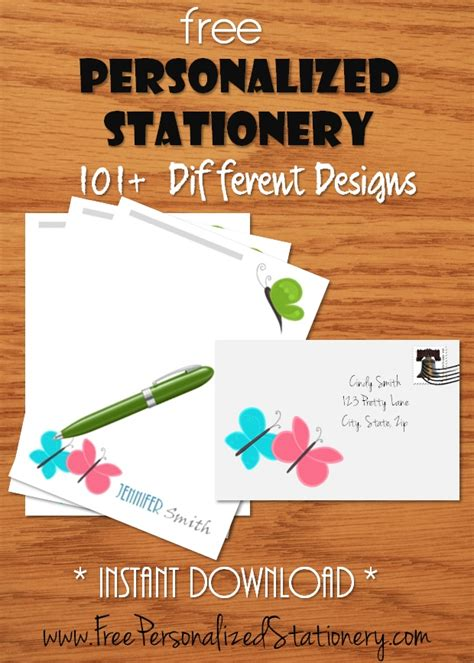 personalized stationery  kids