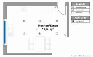 Sockelblende Küche Selber Machen : elektroinstallation planen f r k che und essbereich ~ Lizthompson.info Haus und Dekorationen