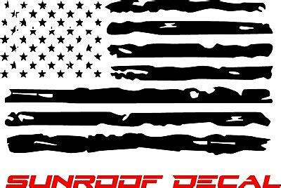 distressed american flag vinyl sunroof decal f150 dodge chevy ford jeep 38 95 picclick