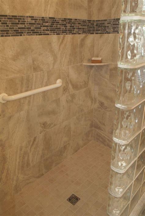 work   partial wall tub  shower idea