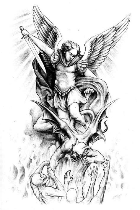 Jesse Santos - Book of angels | Angel tattoo designs | Tattoos, Archangel michael tattoo